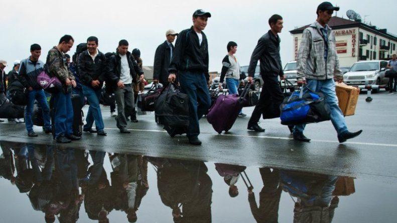 Общество: ФСБ впервые назвала число въехавших в Россию трудовых мигрантов