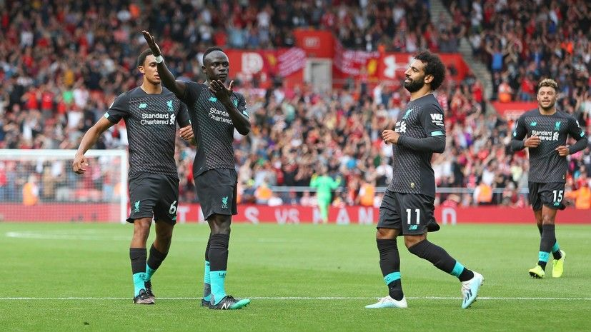 Общество: «Ливерпуль» одержал вторую победу подряд в чемпионате Англии по футболу, обыграв «Саутгемптон»