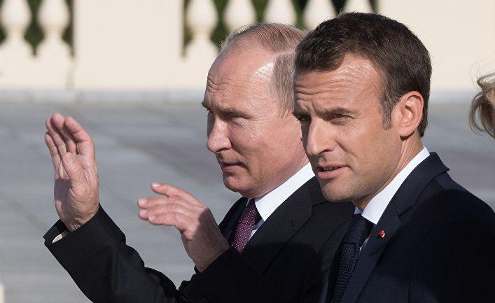 Общество: The Telegraph (Великобритания): Эмманюэль Макрон проводит спорные переговоры с Россией перед саммитом G7
