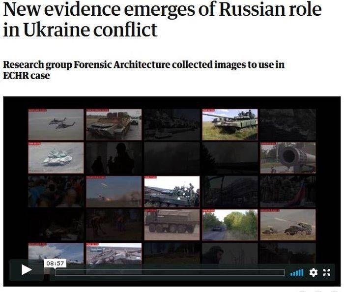 Британцы нашли «доказательства» участия России в войне на Донбассе