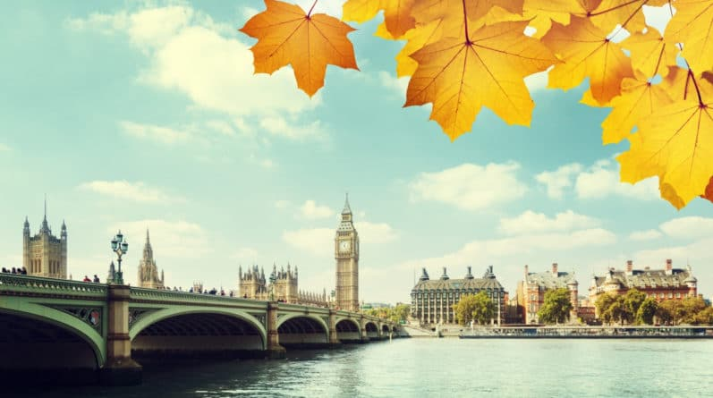 Погода: Почему стоит побывать в Англии осенью