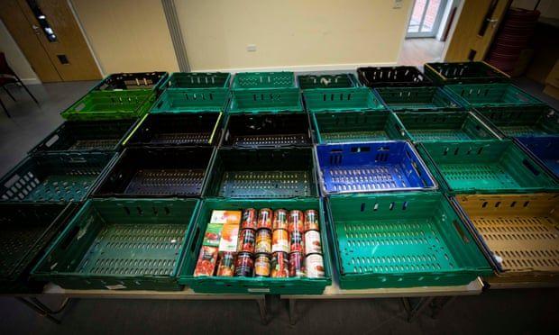 Британские продовольственные банки опустошены за время школьных каникул