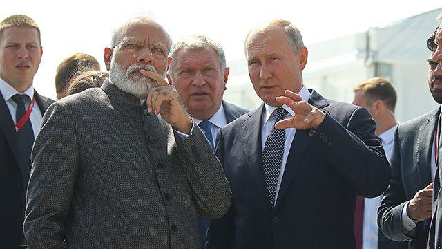 Общество: Путин и Моди призвали к реформе Совбеза ООН