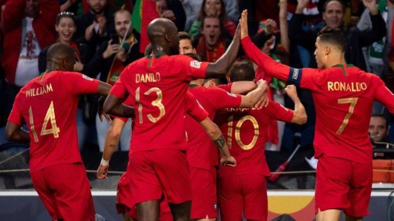 Общество: Сборная Португалии обыграла команду Сербии в отборе к Евро-2020