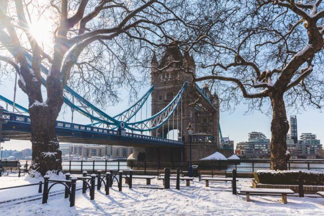 Общество: Великобританию ожидает самая холодная зима за тридцать лет