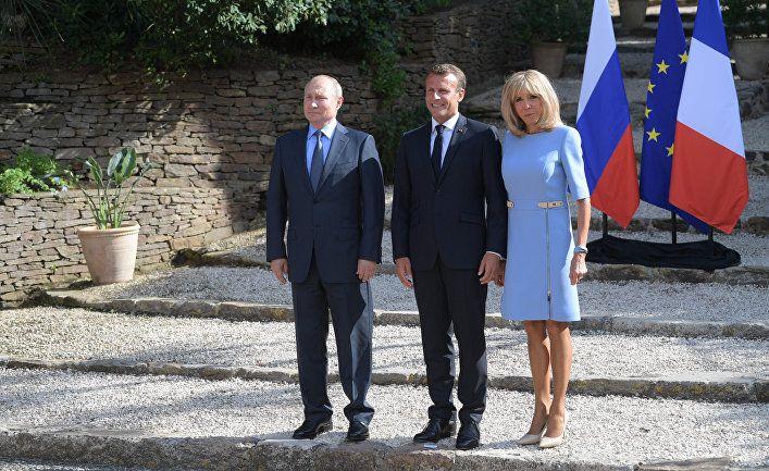 Общество: Financial Times (Великобритания): разворот Макрона в сторону России вызывает тревогу в ЕС