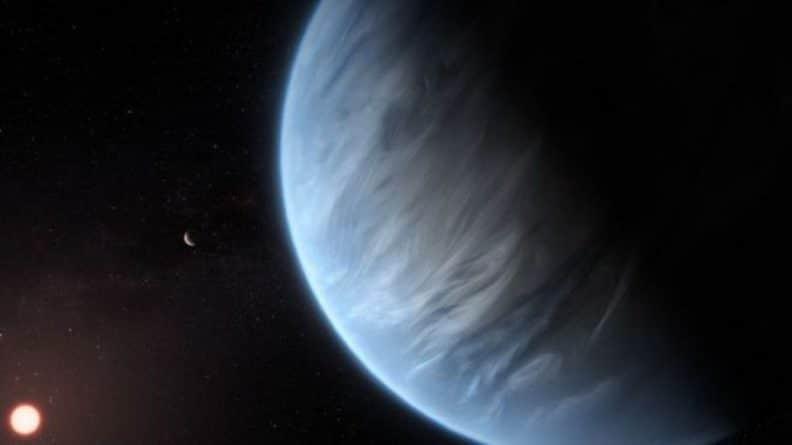 Общество: Астрономы обнаружили много воды на планете K2-18b