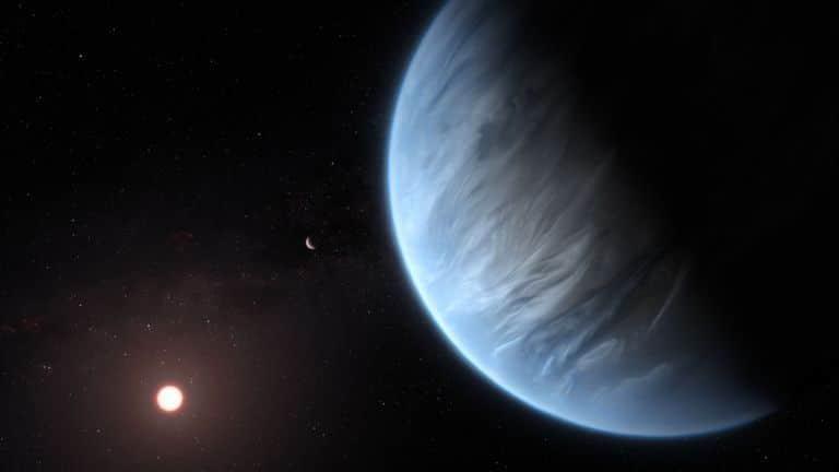 Общество: Астрономы впервые обнаружили воду в атмосфере потенциально обитаемой планеты K2-18b