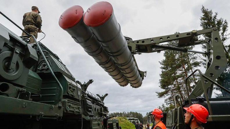 Общество: Минобороны досрочно получило новый полковой комплект С-400 «Триумф»