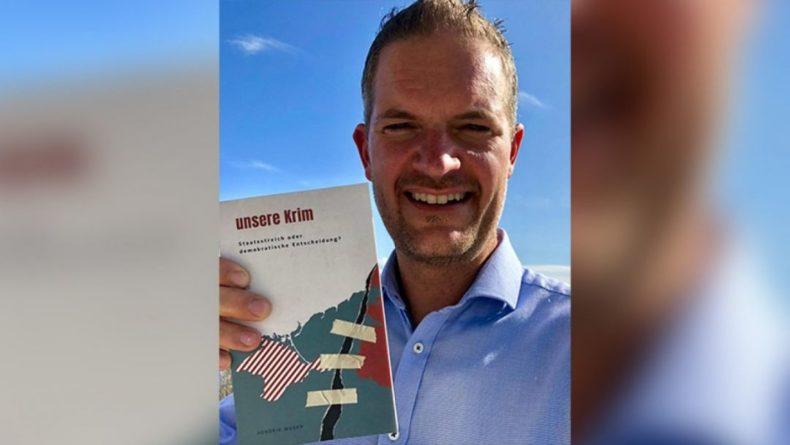 Общество: Норвежец Хендрик Вебер выпустил для европейцев книгу «Крым наш» о событиях 2014 года