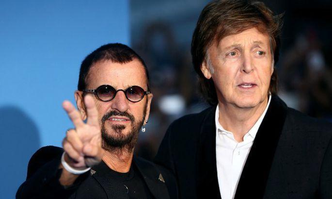 Общество: Пол Маккартни и Ринго Старр издадут песню, которую Джон Леннон написал в последний год своей жизни