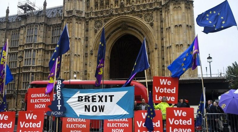 Политика: Евросоюз ещё не получил от Лондона предложений по Brexit