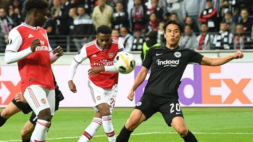 «Арсенал» добыл крупную победу над «Айнтрахтом» в ЛЕ