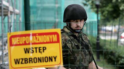 Офицер польского Агентства внутренней безопасности