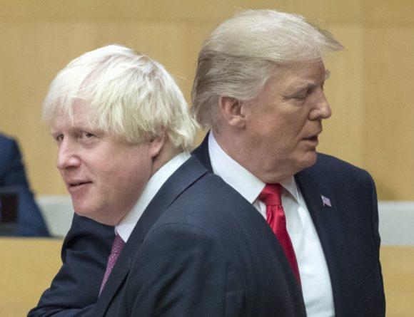 Политика: Джонсон и Трамп заключат торговую сделку к июлю 2020