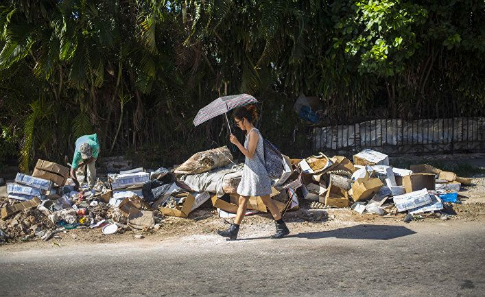 Общество: Bloomberg (США): война Путина с мусором – это битва за сохранение власти