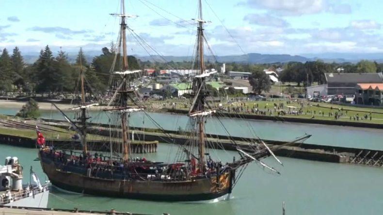 Общество: Новая Зеландия: протесты против юбилея