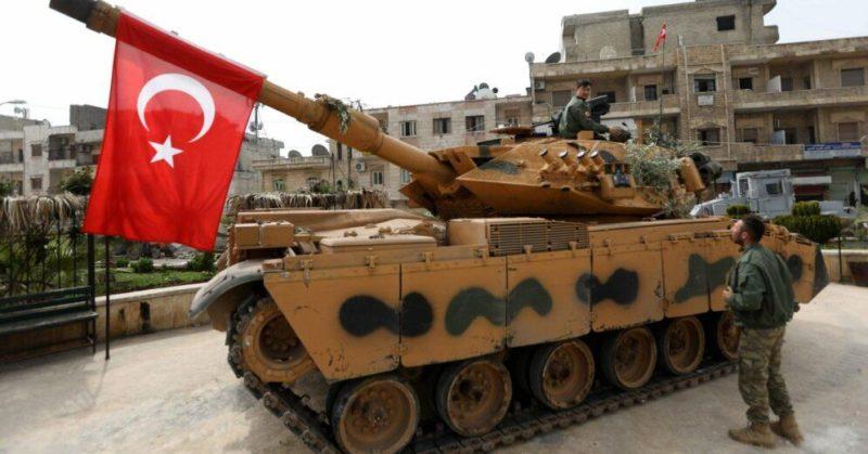 Общество: Турция начала наступление в Сирии. США заявляют, что не давали на это согласия