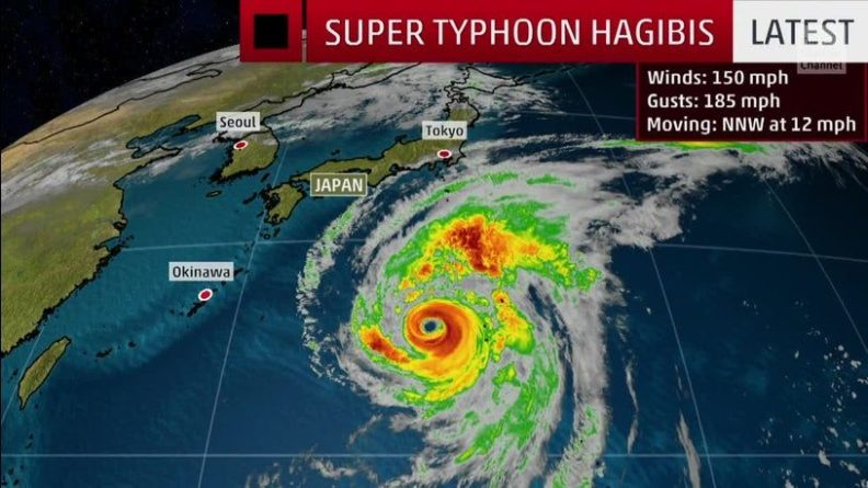 Общество: Япония в ожидании самого мощного за 61 год супертайфуна - Cursorinfo: главные новости Израиля