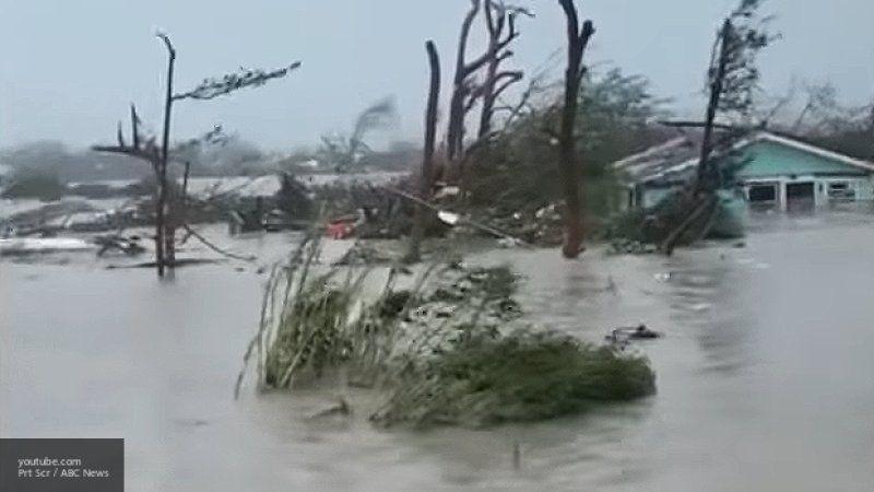 """Число пропавших из-за урагана """"Дориан"""" на Багамах превышает тысячу человек"""