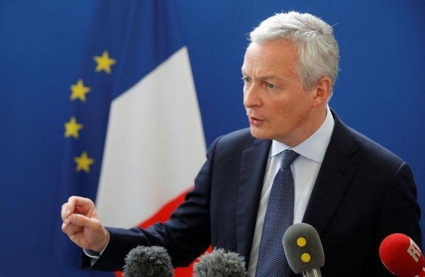 Общество: Министр финансов Франции: ЕСможет ввести санкции натовары изСША