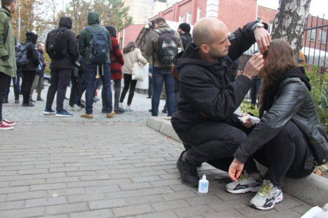 Общество: В Киеве избили людей, протестующих против военной операции в Сирии - Cursorinfo: главные новости Израиля