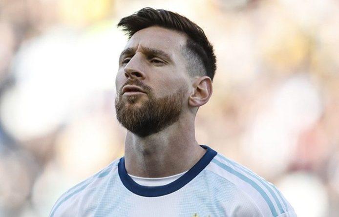 Общество: Месси получил «Золотой мяч» в шестой раз