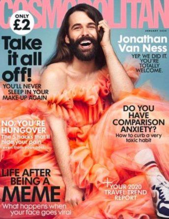 Общество: На обложке женского журнала Cosmopolitan впервые за 35 лет появился мужчина (ФОТО)