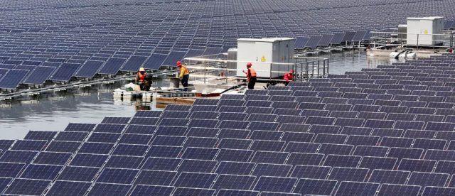 Общество: Нидерланды строят «солнечные острова» для борьбы с повышением уровня моря