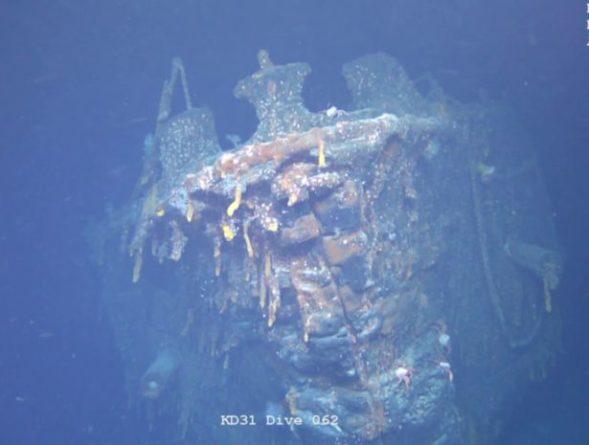 Общество: Найден затонувший германский крейсер «Шарнхорст»