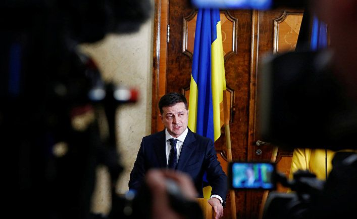 Общество: Guardian (Великобритания): новый украинский президент встречается лицом к лицу с Путиным в Париже