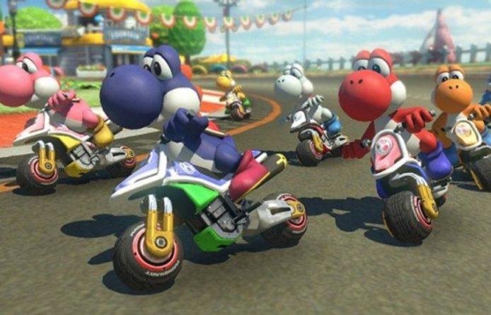 Общество: Mario Kart 8 Deluxe ворвалась в тройку лидеров британского чарта