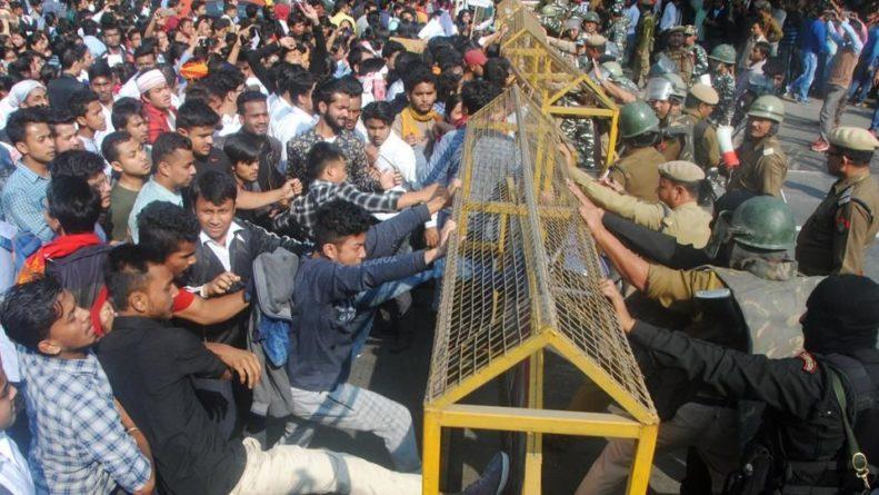 Общество: Индия ввела войска в столицу одного из штатов по причине беспорядков - Cursorinfo: главные новости Израиля