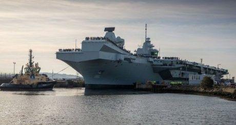 Общество: Британский военно-морской флот принял на вооружение второй авианосец (ВИДЕО)