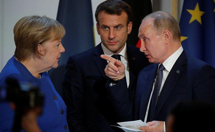 Общество: Süddeutsche Zeitung (Германия): Меркель должна указать Путину на границы