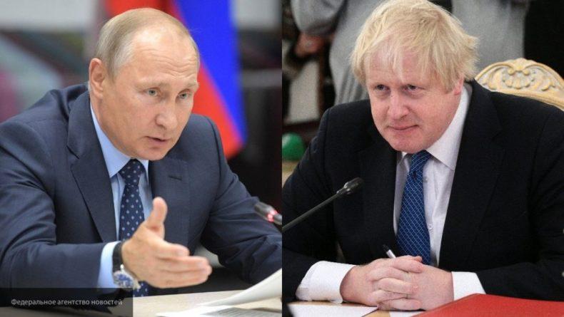 Общество: Владимир Путин поздравил Джонсона, назначенного на пост премьера Британии
