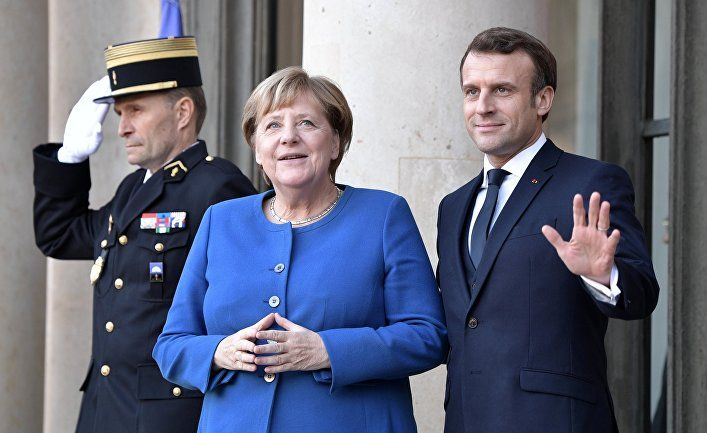 Общество: Parlamentní listy (Чехия): Крым никого не интересует. Макрон и Меркель умывают руки. Тереза Спенцерова и плохие новости об Украине