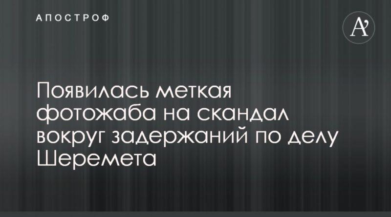 Общество: Появилась меткая фотожаба на скандал вокруг задержаний по делу Шеремета