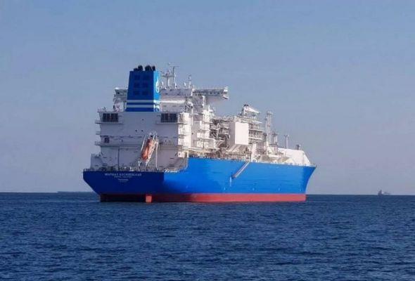 Общество: Газовоз «Газпрома» доставил СПГ изСША вИспанию ипошел вдоль Африки