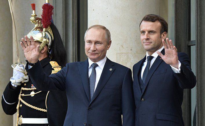 Общество: Valeurs actuelles (Франция): Макрон делает шаг навстречу России в интересах Европы