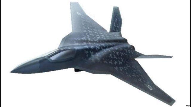 Общество: В Японии представили концепт истребителя будущего с огромным радиусом действия