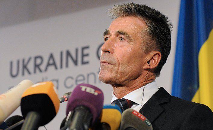 Общество: Андерс Фог Расмуссен: военная помощь США Украине не должна использоваться как инструмент в предвыборной кампании (Berlingske, Дания)