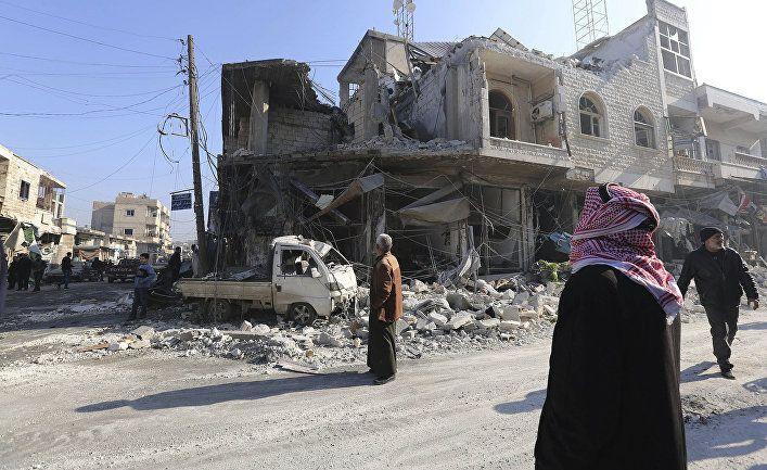 Общество: The Times (Великобритания): 80 тысяч человек бегут из Идлиба от бомбардировок Асада, называя их «светопреставлением»