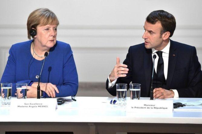 Общество: Жители Германии доверяют Меркель меньше, чем Макрону