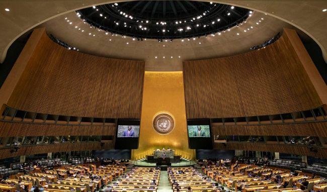 Общество: Генассамблея ООН поддержала инициативу России оборьбе скиберпреступностью