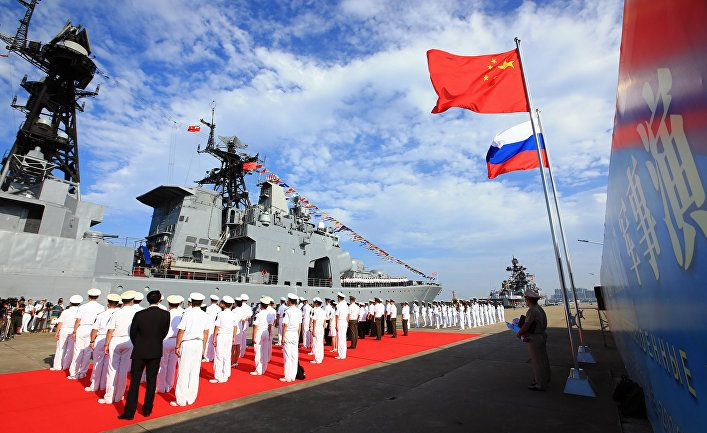 Общество: CNN (США): Китай, Россия и Иран проводят совместные военно-морские учения в Оманском заливе