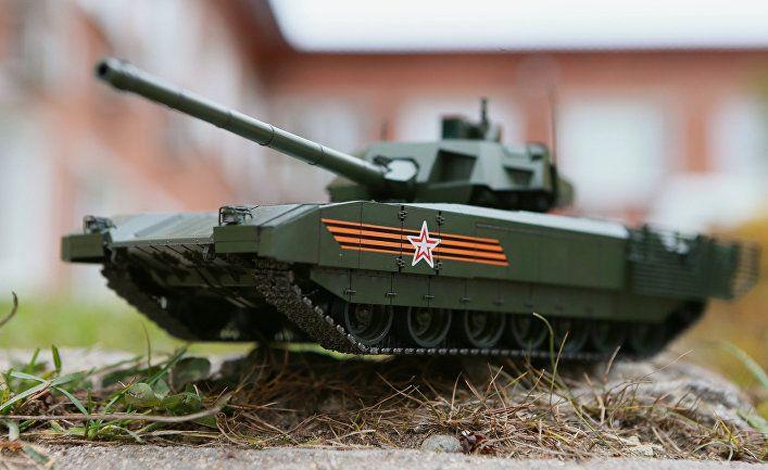 Общество: Daily Mail (Великобритания): новый русский танк с унитазом на борту