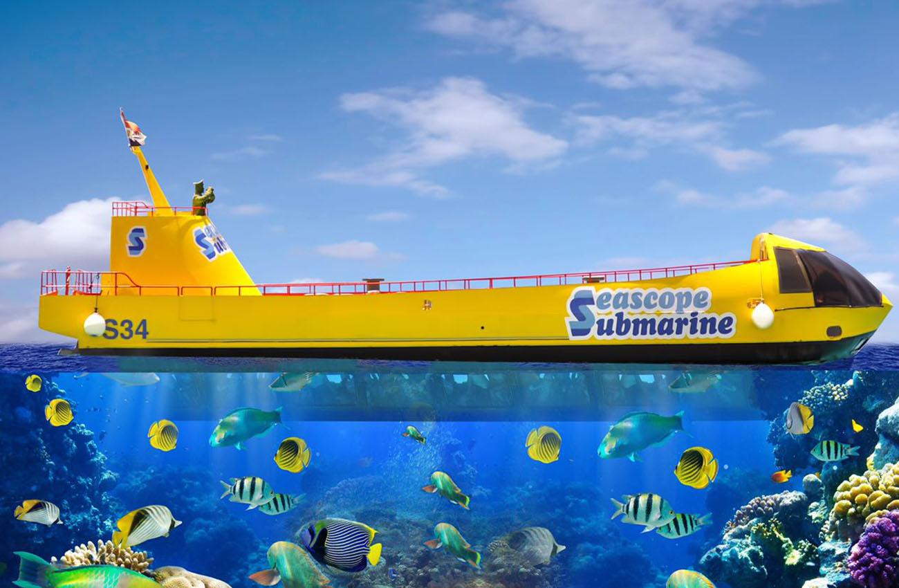 прогулка на субмарине