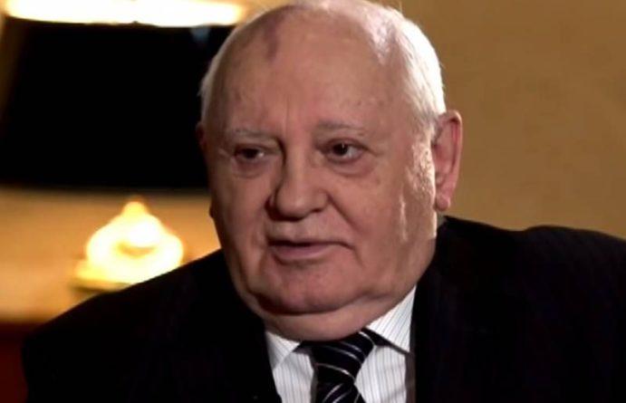 Общество: Горбачёв обратился к мировым лидерам с предупреждением