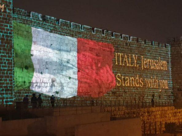 Общество: Иерусалим и Тель-Авив выразили свою поддержку Италии - Cursorinfo: главные новости Израиля